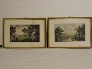 Watercolor prints by G. Riboldi