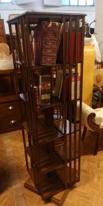 American revolving bookcase