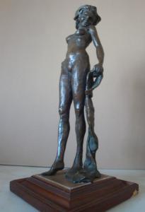 Escultura de bronce del siglo XX