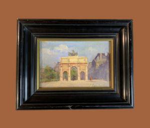 何塞·加西亚·拉莫斯(JoséGarcíaRamos(1852-1913))-巴黎:卡杜塞尔城堡和罗浮宫博物馆