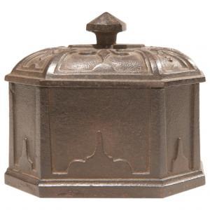 English Tobacco Cast Iron Old Box