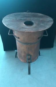 Estufa de cobre.