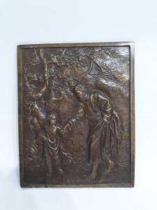 Bassorilievo in bronzo