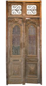 ptci341 puerta de la embajada turca mis. 130 x 335 h de espesor cm 7