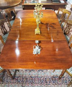 Victorian Dining Table Mahogany 200 Cm. 19th Century