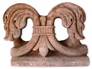 Antica mensola in pietra. Epoca 1800.
