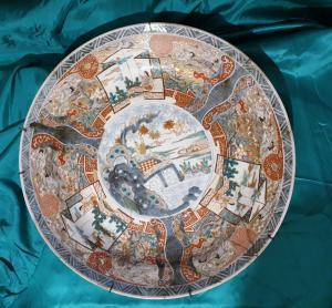 Piatto in porcellana cinese