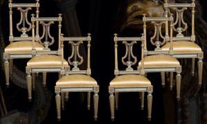 Sei sedie LXVI Torino
