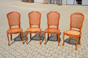SET 4 PROVENZAL CHAIRS REF. 4815