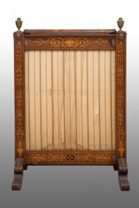 Antique Charles X French front fireplace Period 19th century.