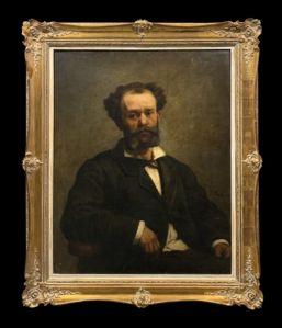 Edouard Moyse (1827-1908) - Retrato de un judío belga