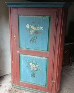 TIROL PAINTED CABINET