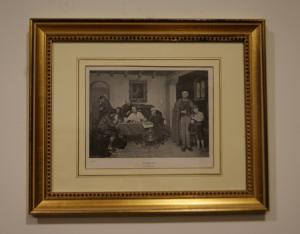 Impresión inglesa antigua de 1800 titulada por JBBurgess.