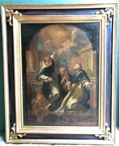 Bozzetto con santi