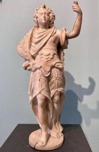 Scultura in marmo raffigurante Minerva