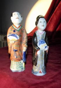 Pair of figures - China.