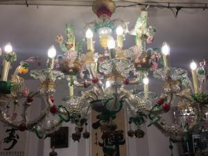 威尼斯贡多拉穆拉诺玻璃 14 火焰
