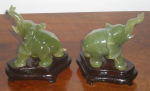 Paar Elefanten