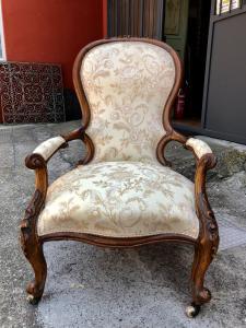 Генуэзское кресло 1800-х годов