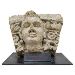 High relief museum stone GANDHARA