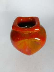 Aldo Ajo Gubbio vaso in ceramica