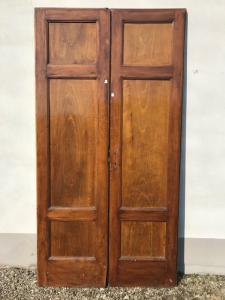 pair of double doors