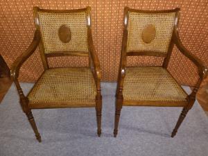 English armchairs