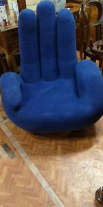 Armchair hand