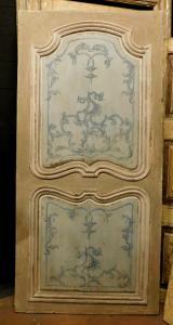 ptl383 лакированная дверь с фасонными панелями, изм. высота см 211 x 102 ширина.