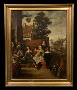 从20世纪初开始的法国学校-霍兰德(Kolesse)的kermesse(跟随Teniers)
