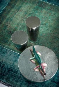 Couchtischset aus Kairo - Baxter - Handgehämmert, hergestellt in Italien - drei Größen erhältlich