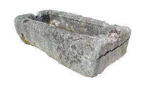 Ancient sandstone drinking trough