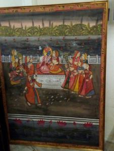 Pair of Indian paintings