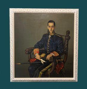 """ Eufemiano""(1921-1995年)-年轻军官"