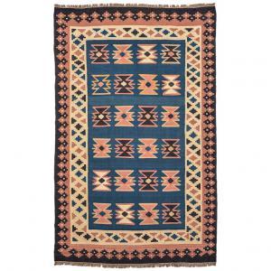 Kilim persiano GASHGAI (o KASHKAI) vecchia manifattura