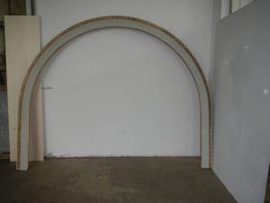 枞木漆框,从1920年代开始扭曲金箔