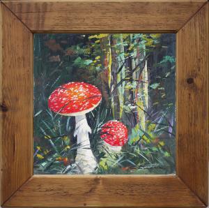 Dipinto Amanita Muscaria – Carl Braml