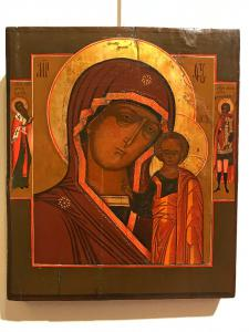 "Icon depicting ""Mother of God of Kazan"" - lot 12"