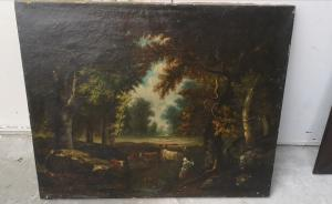 Dipinto francese primi 800