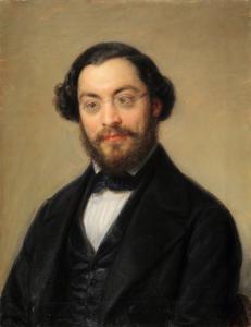 Giovanni Carnovali bekannt als Piccio, Porträt des Hon. Andrea Moretti