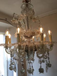 穆拉诺玻璃枝形吊灯8火焰