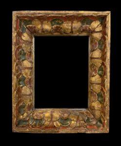 Великолепная резная деревянная рама - Испания, XVII в.