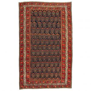 "Antique MALAYER carpet ""botteh"" design (almond)"