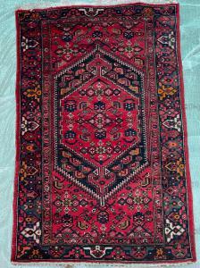 Persian Zangian carpet.