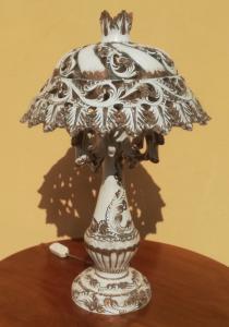 Керамическая лампа Bassano