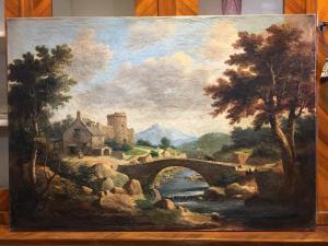 Ancient painting 800 landscape