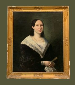 Scuola francese (inizio XIX secolo) - Ritratto di donna