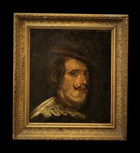 Vecchia scuola spagnola (XVIII ?) - Ritratto di Filippo IV, cacciatore