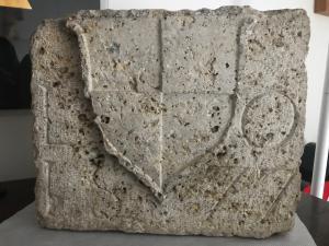 Edler Stein im toskanischen Stein von 1577