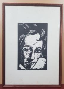 LORENZO VIANI (1882-1936) XILOGRAPHIE DRUCKEN